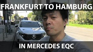 Mercedes EQC from Frankfurt to Oslo part 1