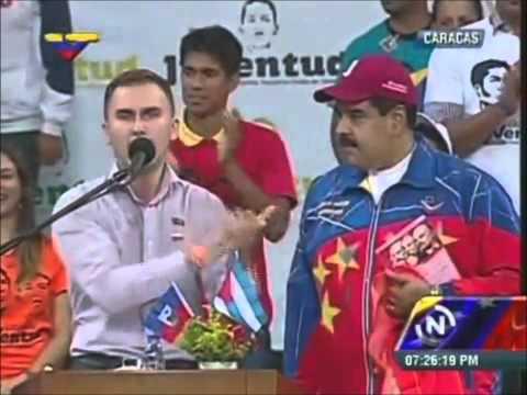 Мадуро Николас Президент Венесуэлы и Клейменов Илья