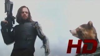 Ракета и Баки в Ваканде / Дуэт Ракеты и Баки. Мстители 3: Война бесконечности. 2018