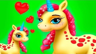 Animal Horse Hair Salon Maker Up Kids Game - Gameplay Video By TutoTOONS Unlock Full