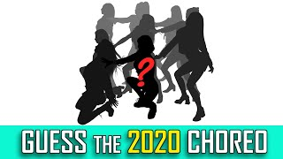 [KPOP GAME] CAN YOU GUESS THE 2020 CHOREOGRAPHY [SILHOUETTE]