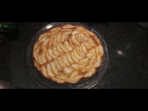 gâteau-aux-pommes-et-amandes,-facile-et-délicieux🍎🍎-👍👍.