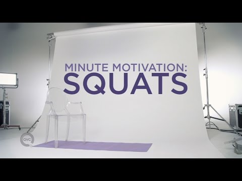 Squat Workout Video | Minute Motivation with Elise Ivy