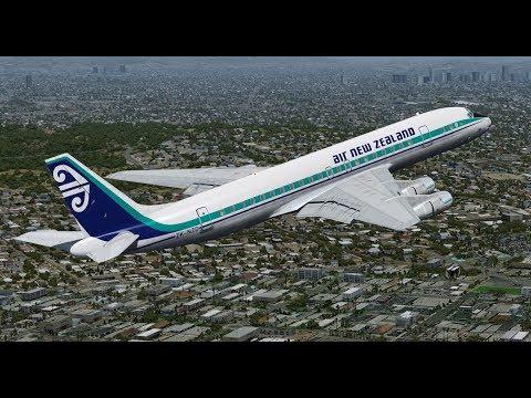 Aerosoft DC-8-50 Trueglass test