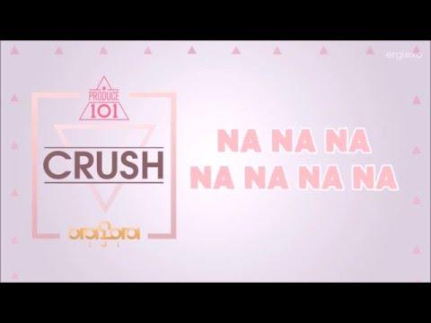 I.O.I (아이오아이) - Crush [EASY LYRICS | ENGLISH TRANSLATION]