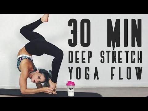 30 MIN DEEP STRETCH Yoga Flow | Flexibility