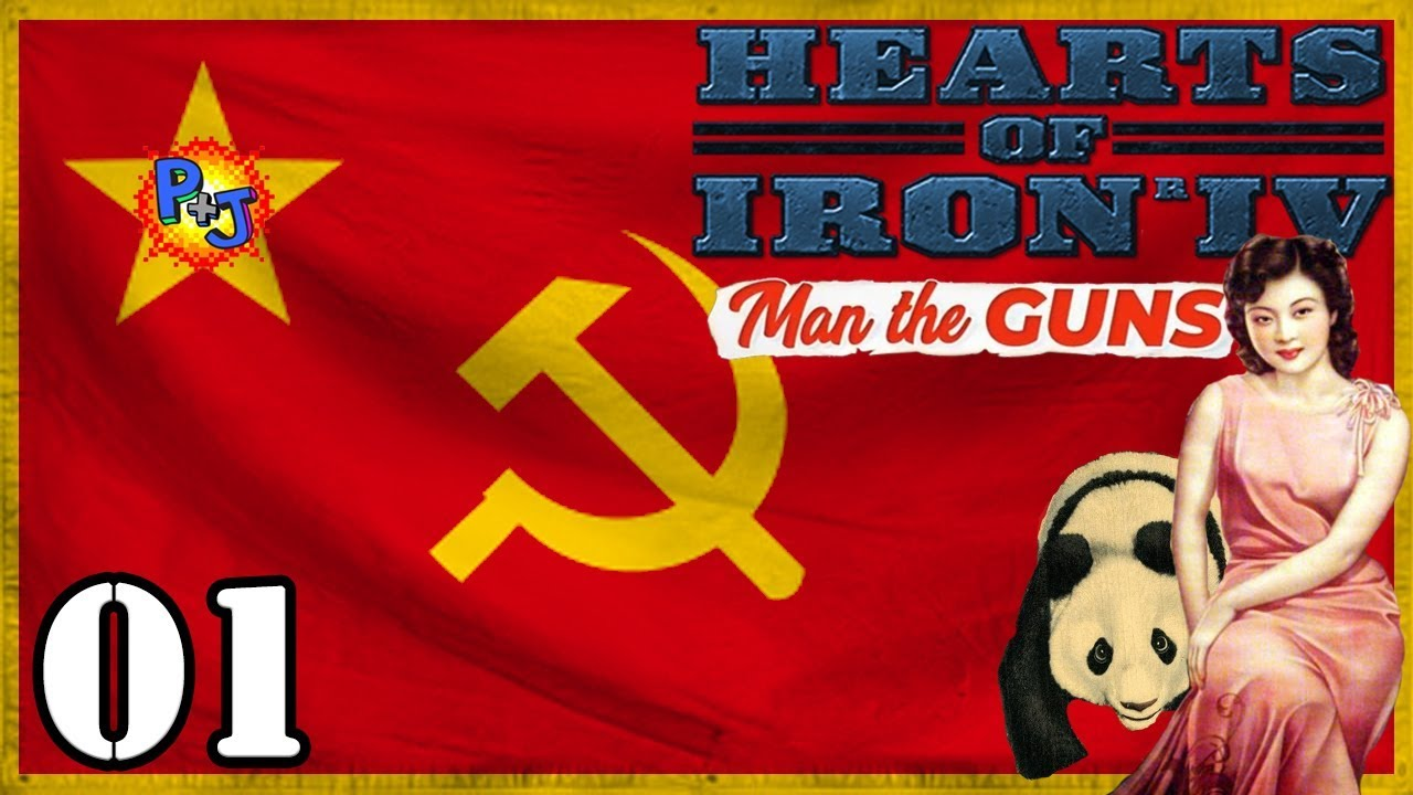 Let's Play Hearts of Iron 4 Communist China | HOI4 Man the
