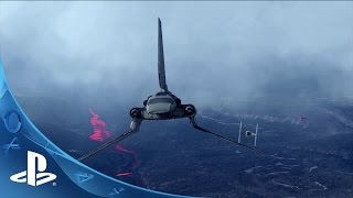 Star Wars Battlefront: Fighter Squadron Mode - Gameplay Trailer | PS4