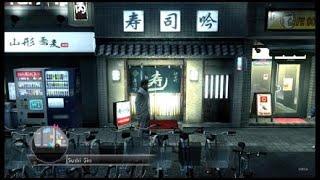 YAKUZA 3 Dates Kana Momonogi Sushi - Oops Oops