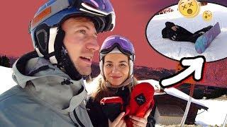 Johanna Snowboard Tricks beibringen! 😵