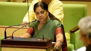 किसानों का 50,000 तक का कर्ज माफ वाले बयान पर पलटी CM Vasundhara Raje