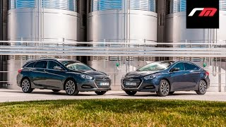 Prueba a fondo Hyundai i40 2015 Revistadelmotor.es смотреть