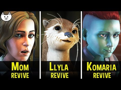 Guardians Of the Galaxy Episode 5 Ending - Revive Peter's Mom, Revive Llyla, Revive Komaria