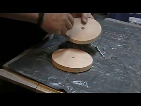 Disque polissage maison diy pour touret doovi for Polir aluminium miroir
