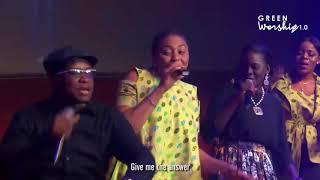 Buchi singing MMA MMA at Green Worship Official Video