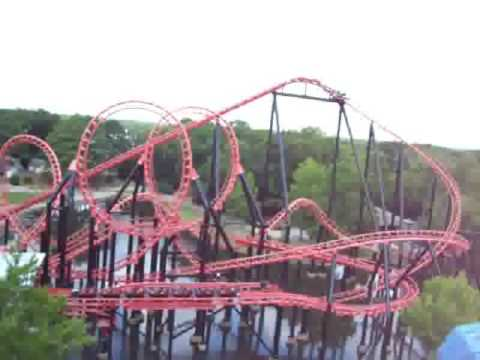 Six Flags Over Georgia How Does It Feel To Get Stuck On A Roller Coaster Goliath Batman Cyclone You
