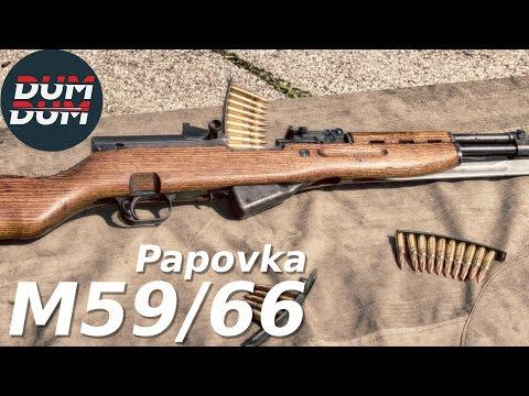 "Zastava PAP M59/66 ""Papovka"" opis puške (gun review, eng subs)"