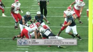 CAA Football 2016 Student Athletes of The Year
