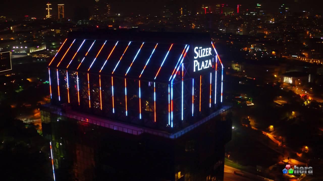 Hera Led Süzer Plaza The Ritz Carlton Hotel Facade Lighting İstanbul Turkey You