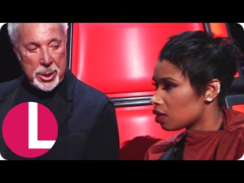 Tom Jones Explains Mushy Peas to Jennifer Hudson | Lorraine