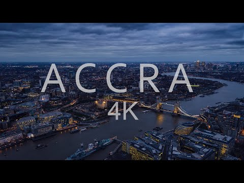 Accra Ghana - Africa's Most Magnificent City in 4K || Travel