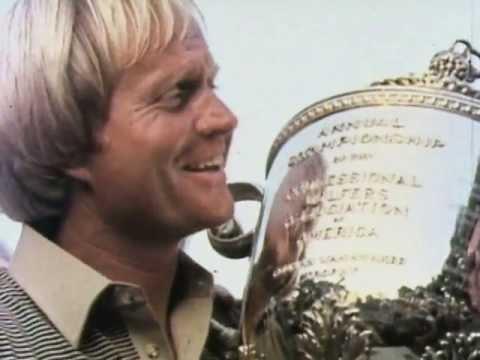 Jack Nicklaus wins the 1980 PGA Championship