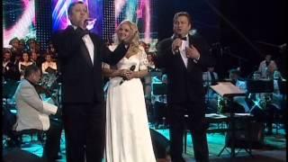 Наталія Шелепницька та Петро і Павло Приймаки - Con te Partiro