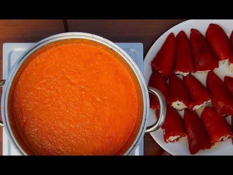 Cod Stuffed Piquillo Peppers - Pimientos Del Piquillo Rellenos De Bacalao