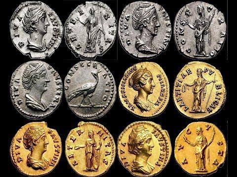 ✅ Монеты Римской Империи, АНТОНИН ПИЙ, Часть 8, 🔝 Coins Of The Roman Empire, Antoninus Pius 🌍