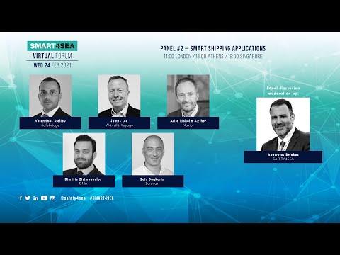 2021 SMART4SEA Virtual Forum Panel 2: Smart Shipping Applications