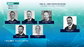 2021 SMART4SEA Virtual Forum Panel 2: Smart Shipping Applications