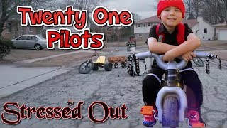 twenty one pilots: Stressed Out [NOT OFFICIAL VIDEO] Kids Music Video Cover | 21 Pilots