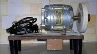Переделка двигателя от стиральной машины(В этом видео рассказывается как поменять вращение ротора на асинхронном двигателе Простой и честный возвр..., 2016-05-14T12:16:22.000Z)