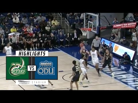 Charlotte vs. Old Dominion Basketball Highlights (2018-19) | Stadium