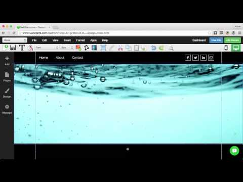 How To Create A Full Width Video Background Strip