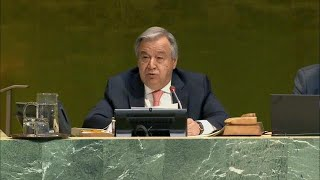 António Guterres (UN Secretary-General) on the Responsibility to Protect