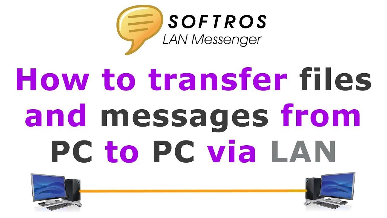 Softros LAN messaggero: Chat per rete locale semplice e completa
