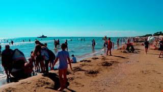 Анапа пляж Джемете 2020