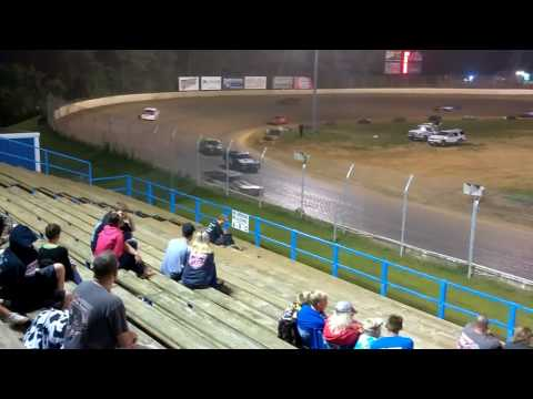 Pure stock feature at Florence speedway 7/29/17