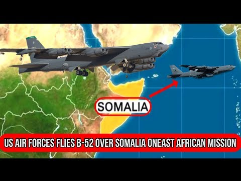 US Air Forces Flies B-52 Over Somalia On East African Mission