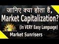 What is Market Capitalization?   Large Cap, Mid Cap and Small Cap Stocks [HINDI]    Market Sunrisers