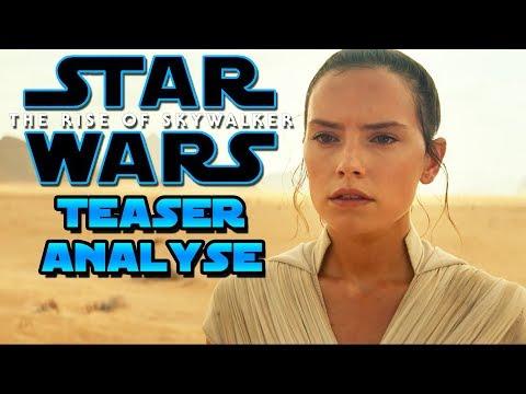 Star Wars 9 Analyse - Star Wars 9 Teaser Trailer Analyse - Star Wars The Rise of Skywalker deutsch