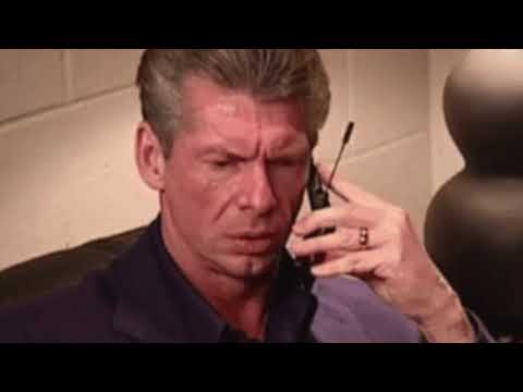 Vince McMahon calls Jerry Lawler during the Royal Rumble pre-show