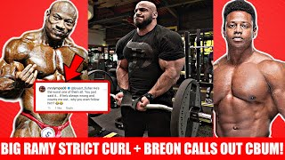 Larry Wheels + Dexter Jackson Calls ME Out+ BIG RAMY STRICT CURL!? + Breon CALLS OUT Bumstead + MORE