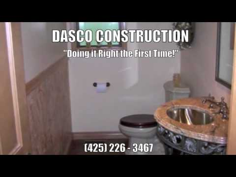 Bathroom Remodeling Estimates Renton WA Dasco Construction