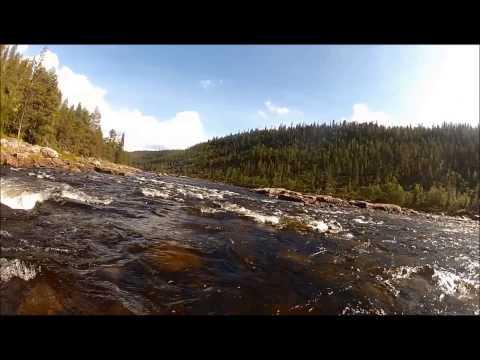 Ivalojoki: Canoeing and fishing trip in Finland