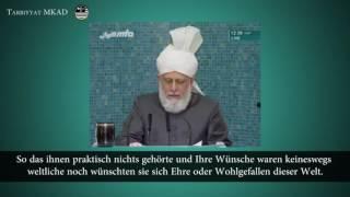 Opfergeist der Gefährten des Heiligen Propheten (saw) - Freitagsansprache 6. Mai 2016