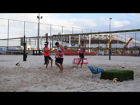 Commonwealth Games 2018: Beach Volleyball training with Team England