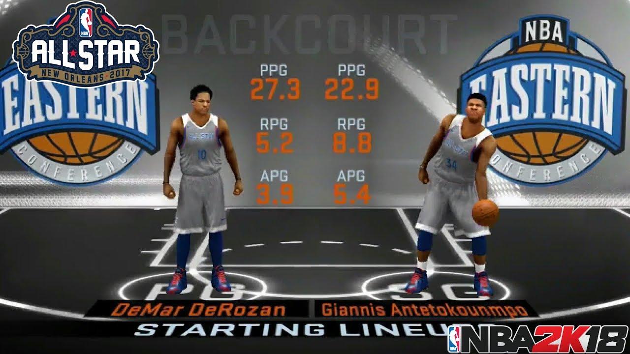 NBA 2K18 XBOX 360/PS3 (LAST GEN)   WEST ALL-STARS VS EAST