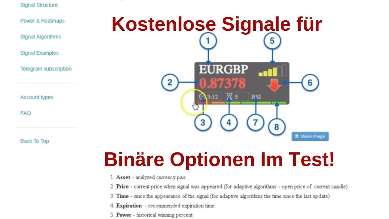 Binäre Optionen Signal Software